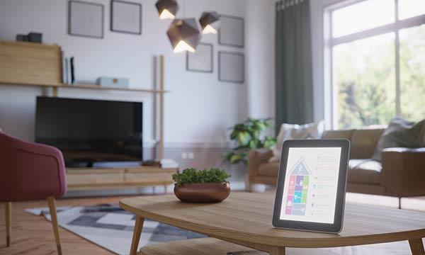 Smarte Gebäudebewirtschaftung über Tablet