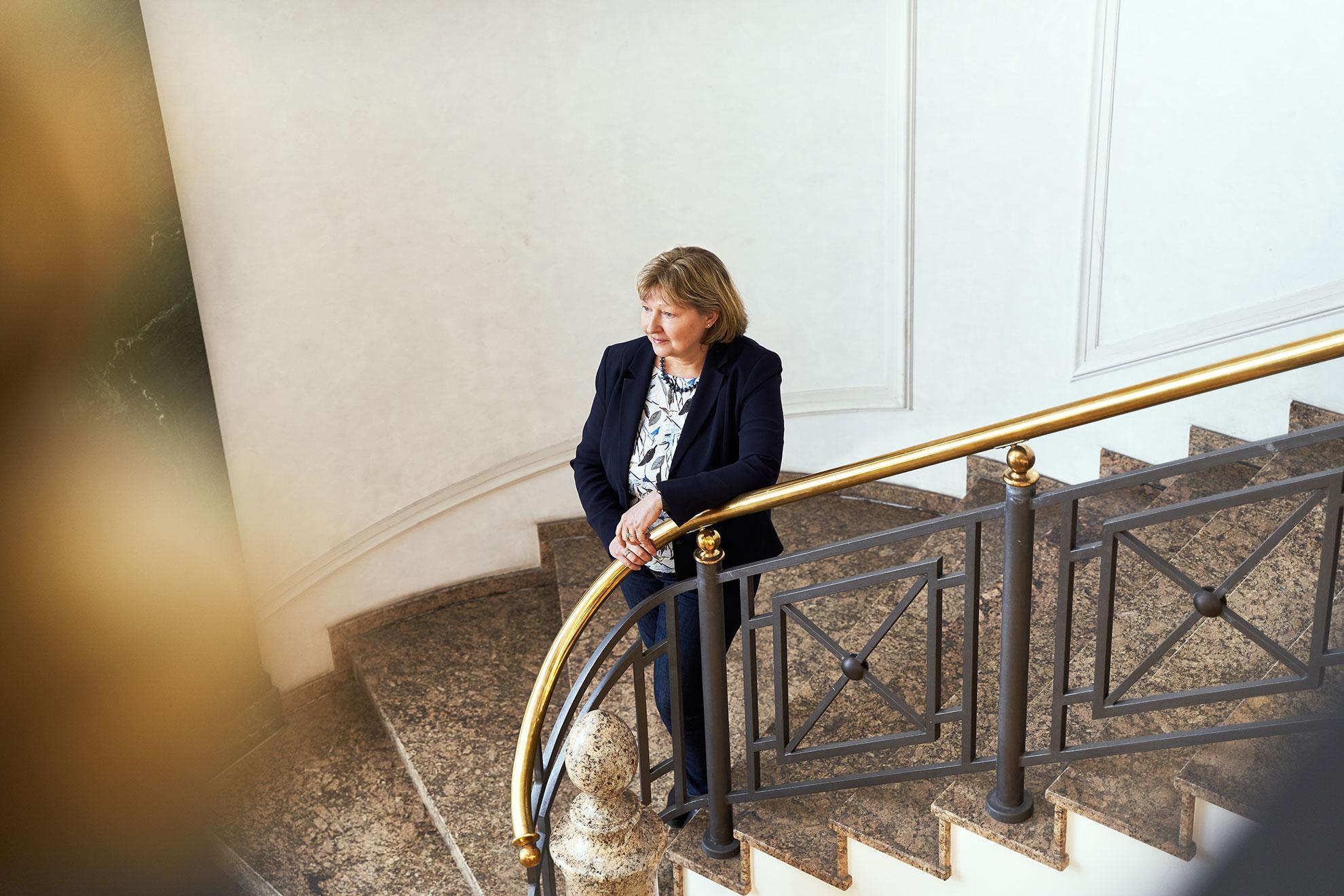 Anke Hüneburg im Interview